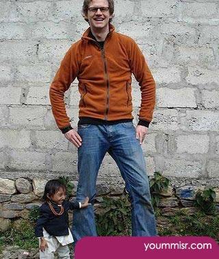 Shortest man in the world 2014