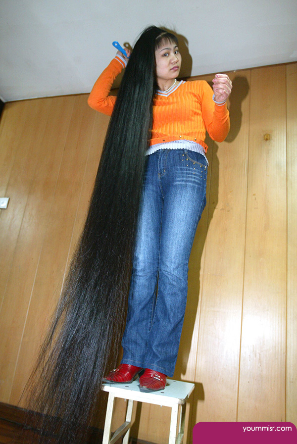 world�s longest hair female 2014 � �� �� �� ����