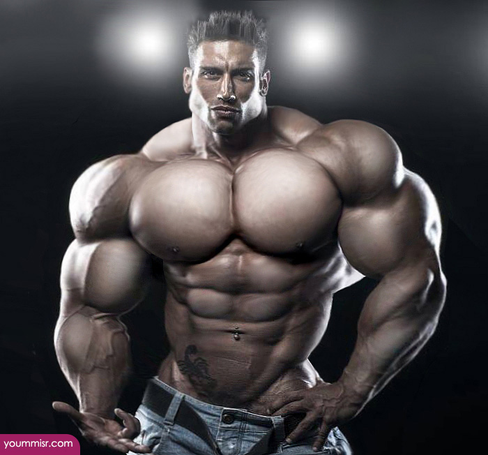 Largest body muscles man in the world 2015 Steroids uk | كورسات