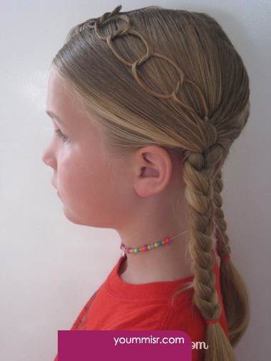 hairstyles for little school girls 2015 Haircuts 2016 كورسات