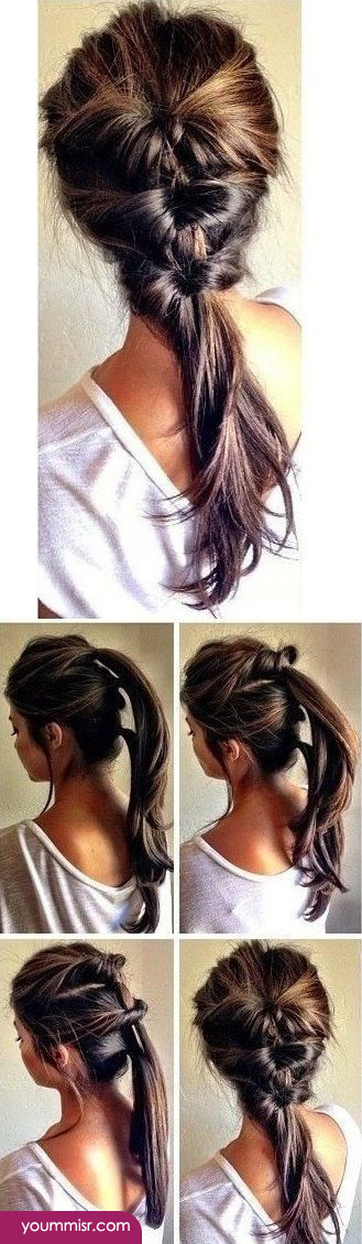 Step By Step Hairstyle...