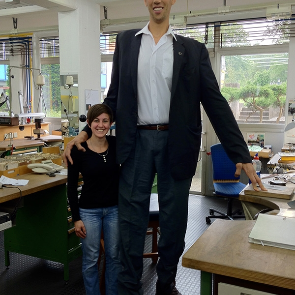 Tallest Person In The World 2014 Guinness tallest man 2...